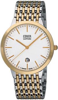 Швейцарские наручные  мужские часы Cover CO123.04. Коллекция Gents