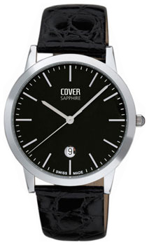 Швейцарские наручные  мужские часы Cover CO123.10. Коллекция Gents