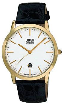 Швейцарские наручные  мужские часы Cover CO123.15. Коллекция Gents