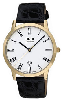 Швейцарские наручные  мужские часы Cover CO123.17. Коллекция Gents