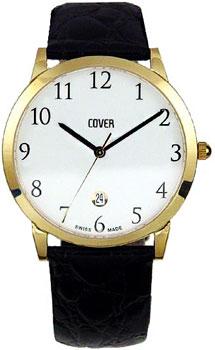 Швейцарские наручные  мужские часы Cover CO123.18. Коллекция Gents