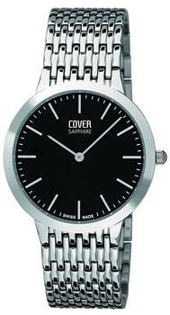 Швейцарские наручные  мужские часы Cover CO124.01. Коллекция Gents