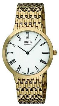 Швейцарские наручные  мужские часы Cover CO124.09. Коллекция Gents