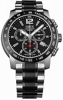 Швейцарские наручные  мужские часы Cover CO126.02. Коллекция Gents