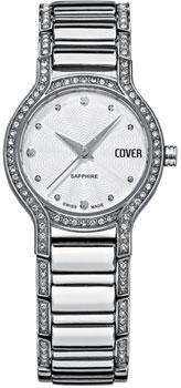 Швейцарские наручные  женские часы Cover CO130.02. Коллекция Ladies