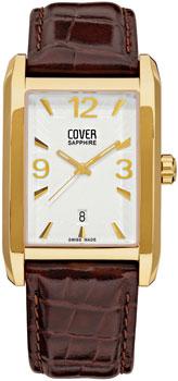 Швейцарские наручные  мужские часы Cover CO132.08. Коллекция Gents