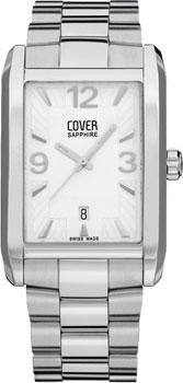 Швейцарские наручные  мужские часы Cover CO132.ST2M. Коллекция Gents