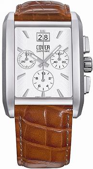 Швейцарские наручные  мужские часы Cover CO134.05. Коллекция Gents