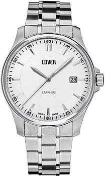 Швейцарские наручные  мужские часы Cover CO137.02. Коллекция Gents
