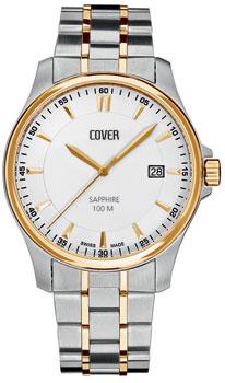 Швейцарские наручные  мужские часы Cover CO137.03. Коллекция Gents