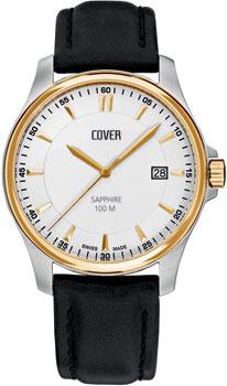 Швейцарские наручные  мужские часы Cover CO137.07. Коллекция Gents