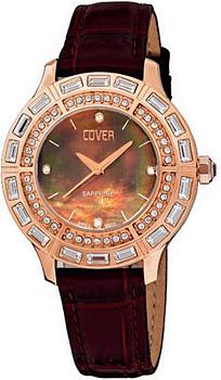 Швейцарские наручные  женские часы Cover CO139.04. Коллекция Ladies
