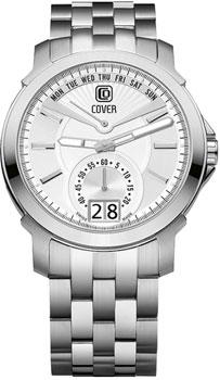 Швейцарские наручные  мужские часы Cover CO140.07. Коллекция Circle-Oval