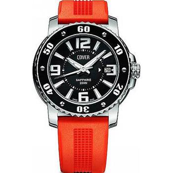 Швейцарские наручные  мужские часы Cover CO145.04. Коллекция Gents