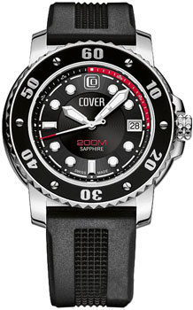 Швейцарские наручные  мужские часы Cover CO145.09. Коллекция Gents