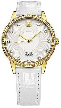Швейцарские наручные  женские часы Cover CO153.04. Коллекция Brilliant times