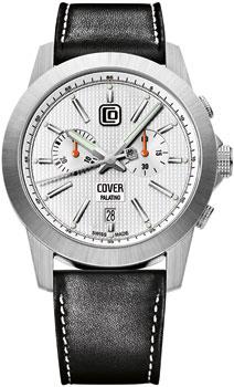 Швейцарские наручные  мужские часы Cover CO155.04. Коллекция Gents