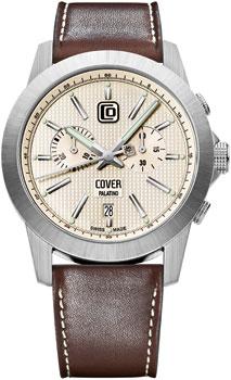 Швейцарские наручные  мужские часы Cover CO155.05. Коллекция Gents