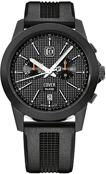 Швейцарские наручные  мужские часы Cover CO155.06. Коллекция Gents