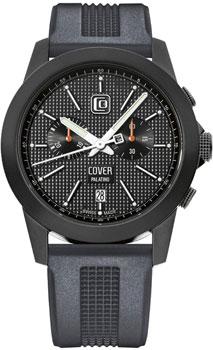 Швейцарские наручные  мужские часы Cover CO155.BPL1RUB. Коллекция Gents