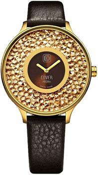 Швейцарские наручные  женские часы Cover CO158.06. Коллекция Piedra