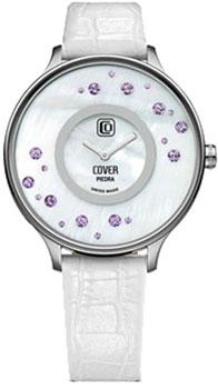 Швейцарские наручные  женские часы Cover CO158.08. Коллекция Piedra