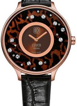 Швейцарские наручные  женские часы Cover CO158.11. Коллекция Piedra