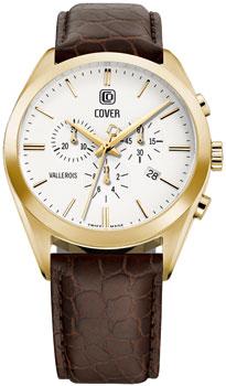 Швейцарские наручные  мужские часы Cover CO161.07. Коллекция Vallerois Chronograph