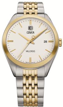 Швейцарские наручные  мужские часы Cover CO162.04. Коллекция Gents