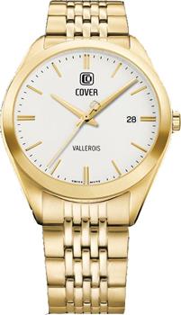 Швейцарские наручные  мужские часы Cover CO162.05. Коллекция Gents