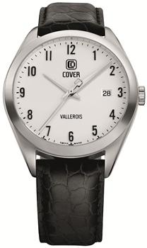 Швейцарские наручные  мужские часы Cover CO162.08. Коллекция Gents