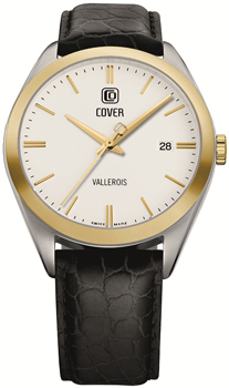 Швейцарские наручные  мужские часы Cover CO162.10. Коллекция Gents