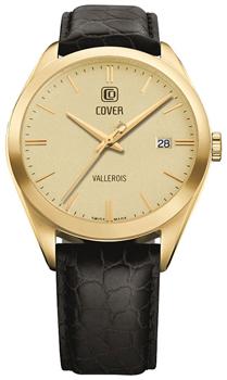 Швейцарские наручные  мужские часы Cover CO162.13. Коллекция Gents
