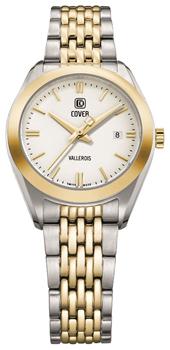 Швейцарские наручные  женские часы Cover CO163.04. Коллекция Vallerois