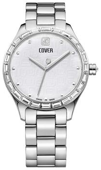 Швейцарские наручные  женские часы Cover CO164.01. Коллекция Decora