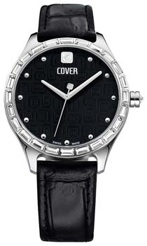 Швейцарские наручные  женские часы Cover CO164.03. Коллекция Decora
