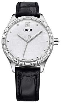 Швейцарские наручные  женские часы Cover CO164.04. Коллекция Decora