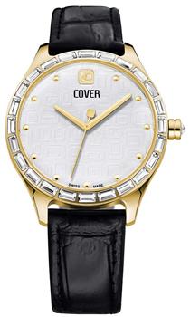 Швейцарские наручные  женские часы Cover CO164.05. Коллекция Decora