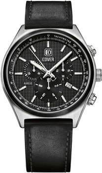 Швейцарские наручные  мужские часы Cover CO165.03. Коллекция Gents