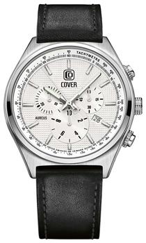 Швейцарские наручные  мужские часы Cover CO165.04. Коллекция Aureus Chronograph