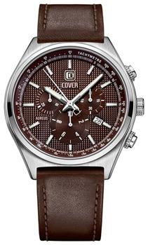 Швейцарские наручные  мужские часы Cover CO165.05. Коллекция Aureus Chronograph