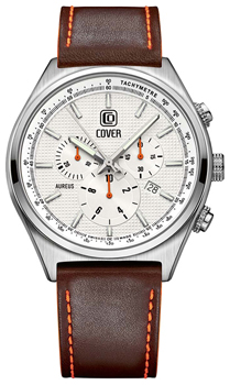 Швейцарские наручные  мужские часы Cover CO165.06. Коллекция Aureus Chronograph