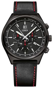 Швейцарские наручные  мужские часы Cover CO165.07. Коллекция Aureus Chronograph