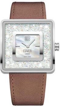 Швейцарские наручные  женские часы Cover CO166.01. Коллекция Lumina