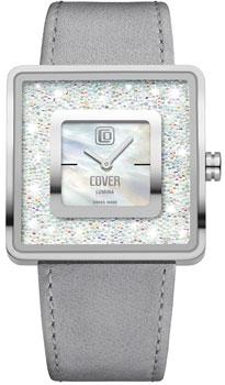 Швейцарские наручные  женские часы Cover CO166.02. Коллекция Lumina