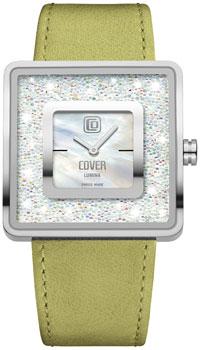 Швейцарские наручные  женские часы Cover CO166.03. Коллекция Lumina