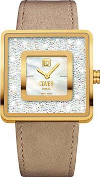 Швейцарские наручные  женские часы Cover CO166.05. Коллекция Lumina