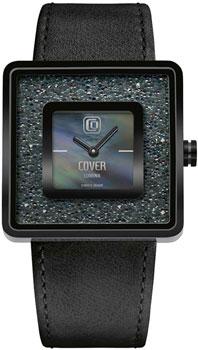 Швейцарские наручные  женские часы Cover CO166.06. Коллекция Square