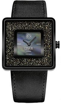 Швейцарские наручные  женские часы Cover CO166.08. Коллекция Lumina