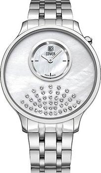 Швейцарские наручные  женские часы Cover CO169.02. Коллекция Perla